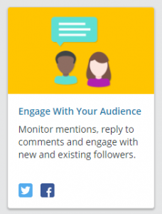 Social Management Hootsuite - Engage With Audience