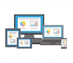 Responsive Website On Different Screens