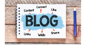 Business Blogging - Connect, Like, Share