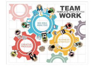 Asana - Team Working Together
