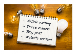 Writing Tips - Useful for Article Writing / Press Release / Blog Post / Website Content
