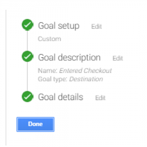 Set Goals with Google Analytics?