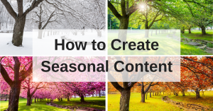 Seasonal Content