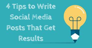 Write Social Media Posts