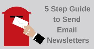 Sending Email Newsletters