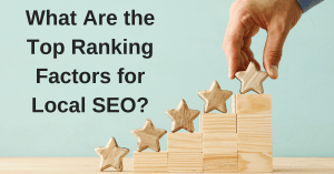 ranking factors for local seo